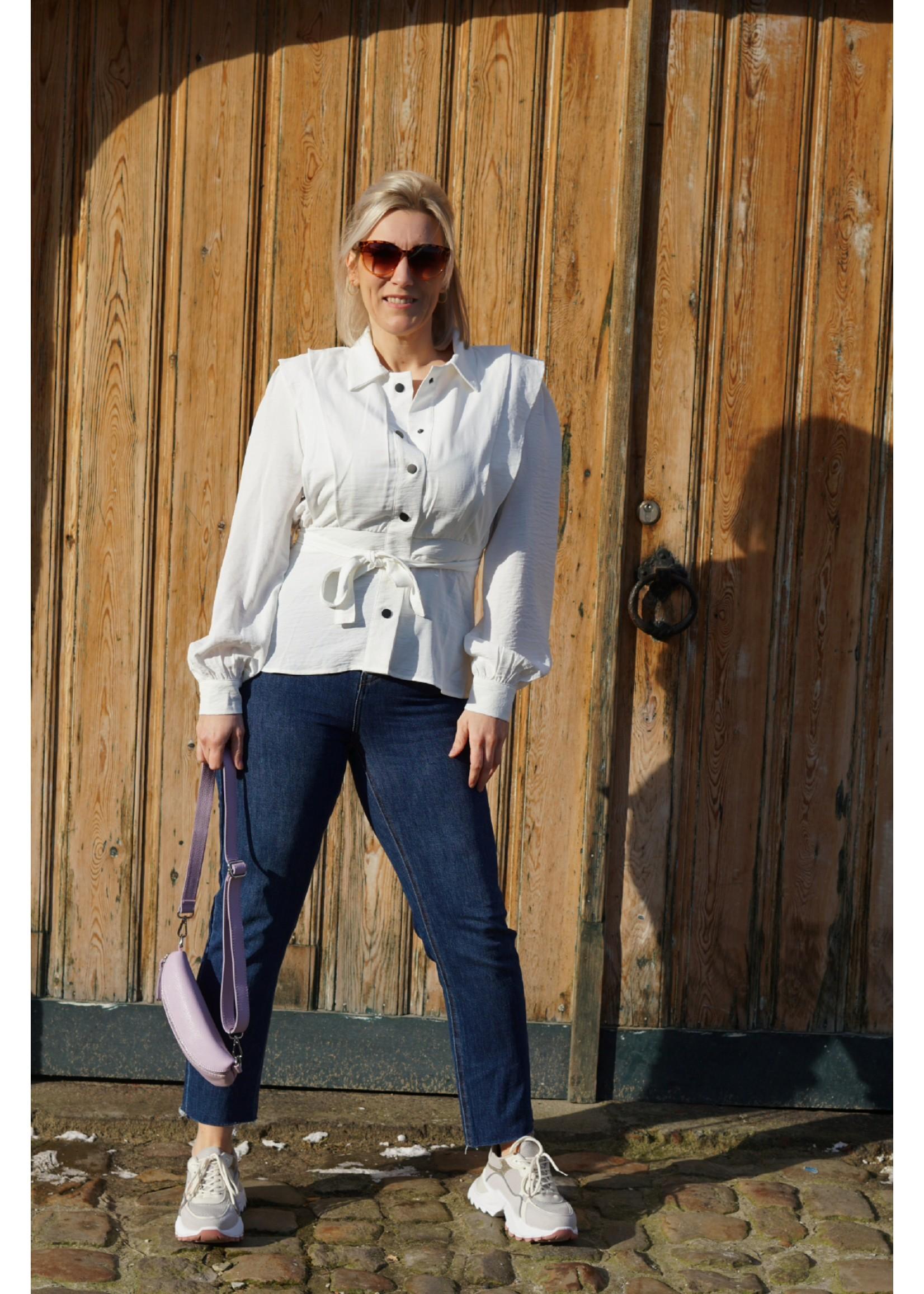 Lofty Manner Blouse fashion white