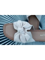 Slipper beige bow