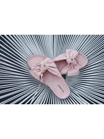 Slipper pink bow
