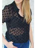 Rutandcircle Blouse black dot