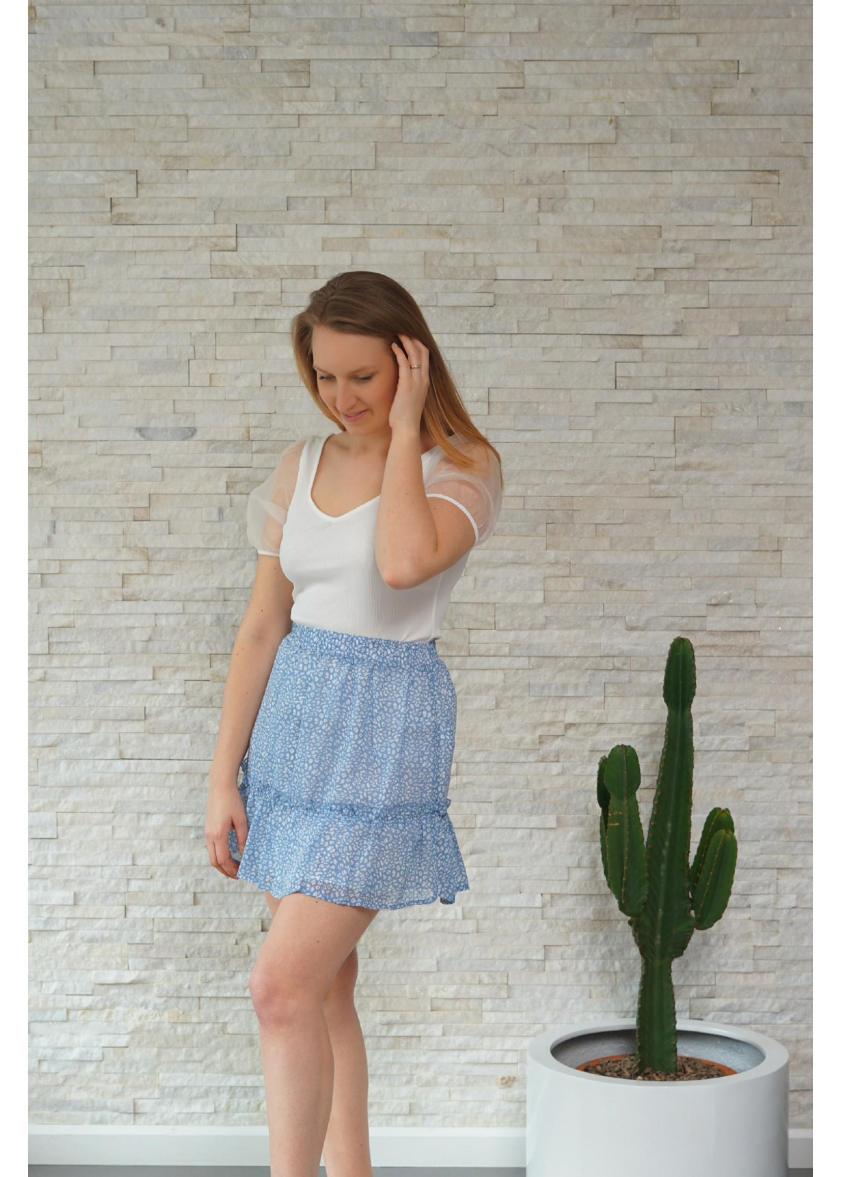 Rutandcircle Skirt vivian blue/white