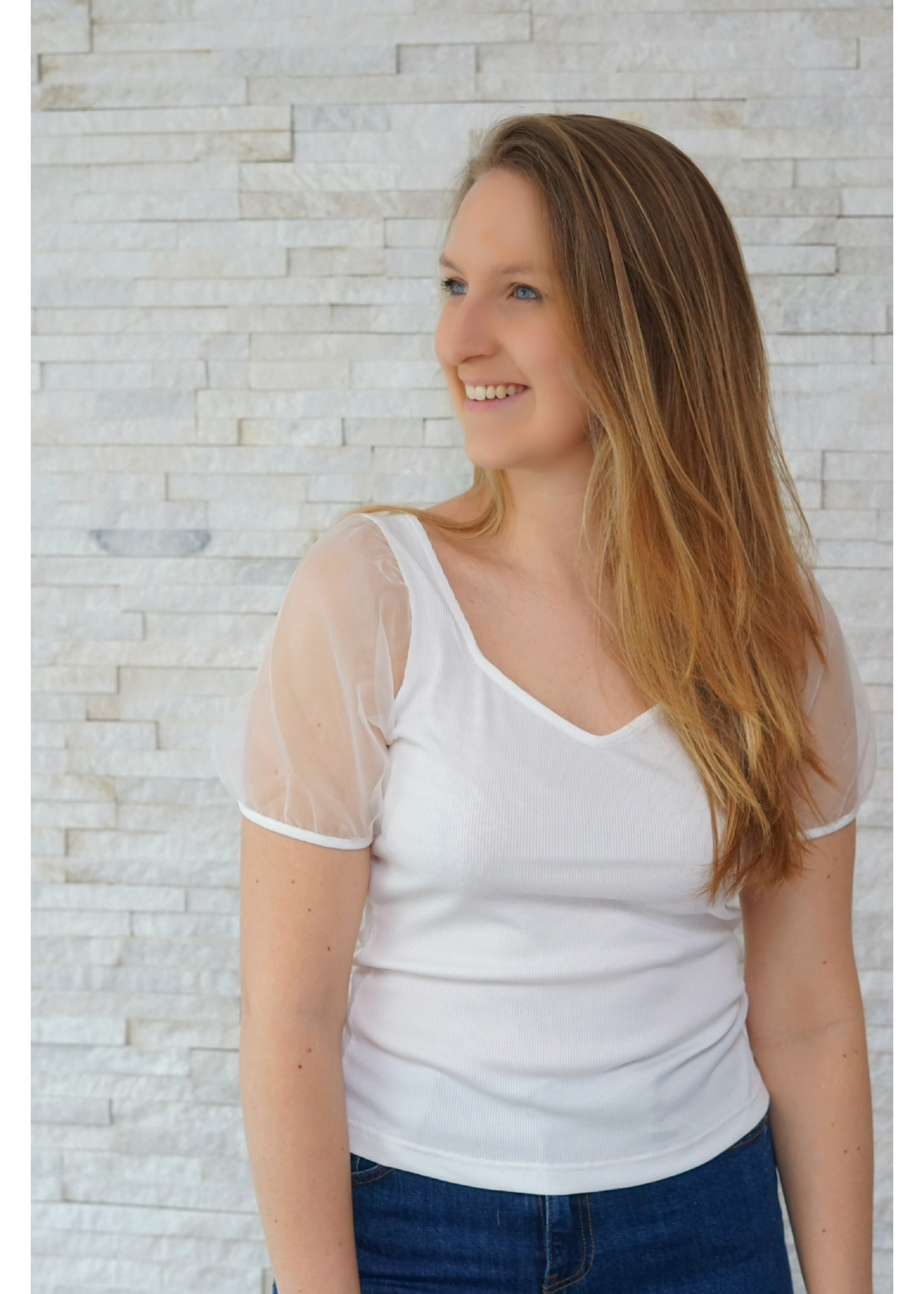 Rutandcircle Shirt organza white