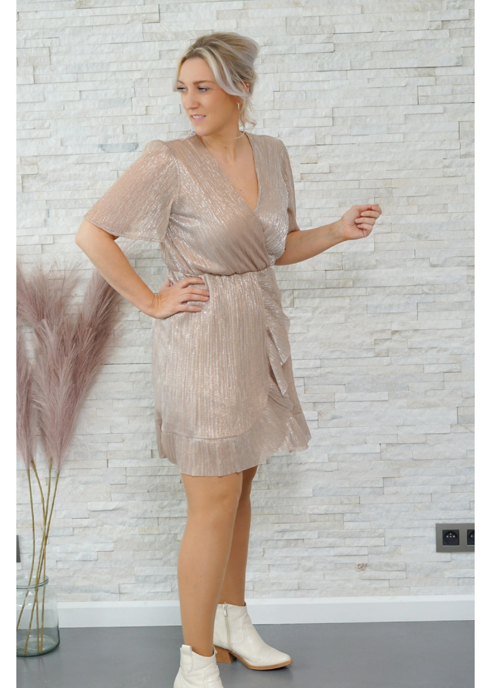 yentlK.byyentl Yentlk dress champagne