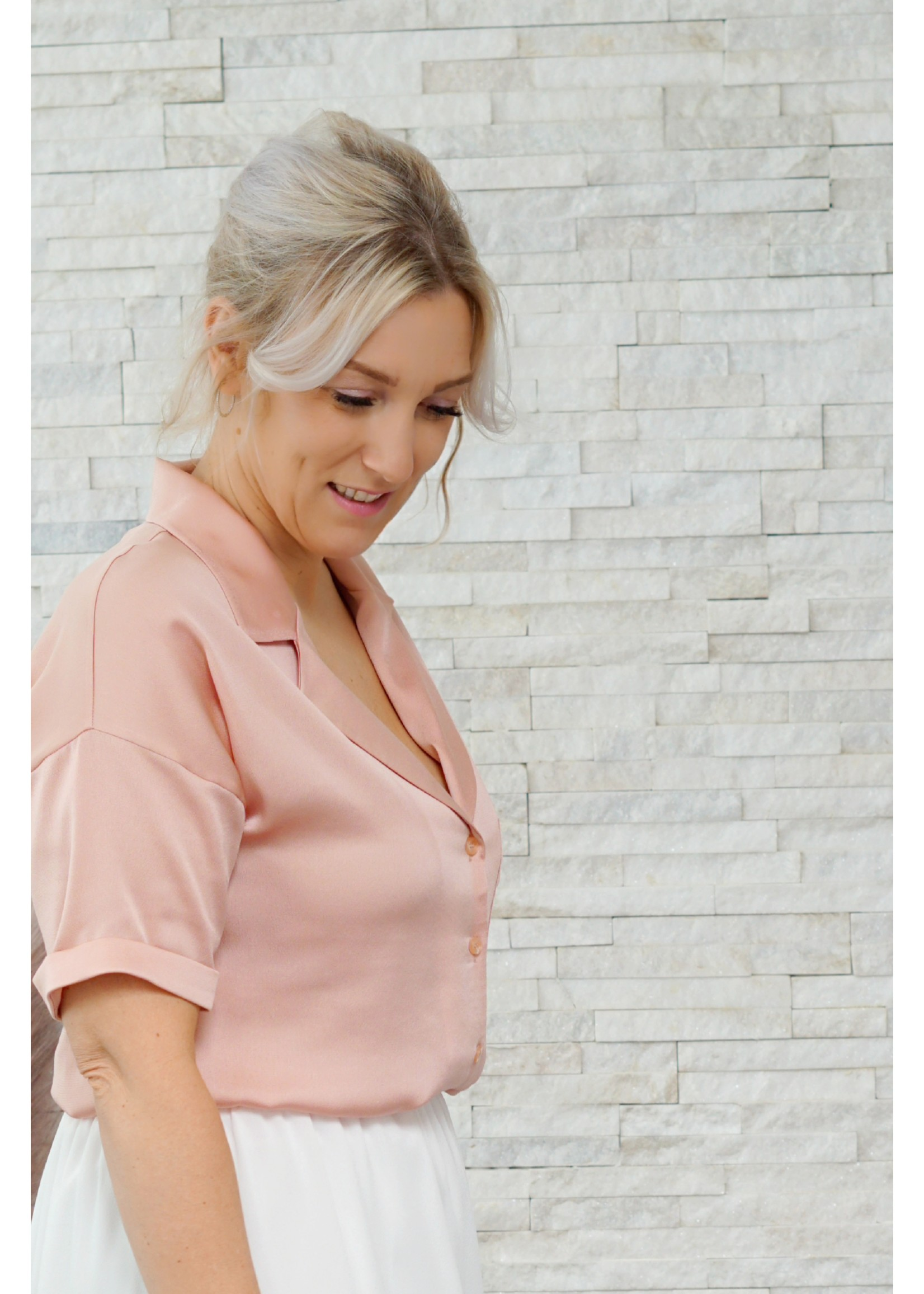yentlK.byyentl Yentlk blouse pink