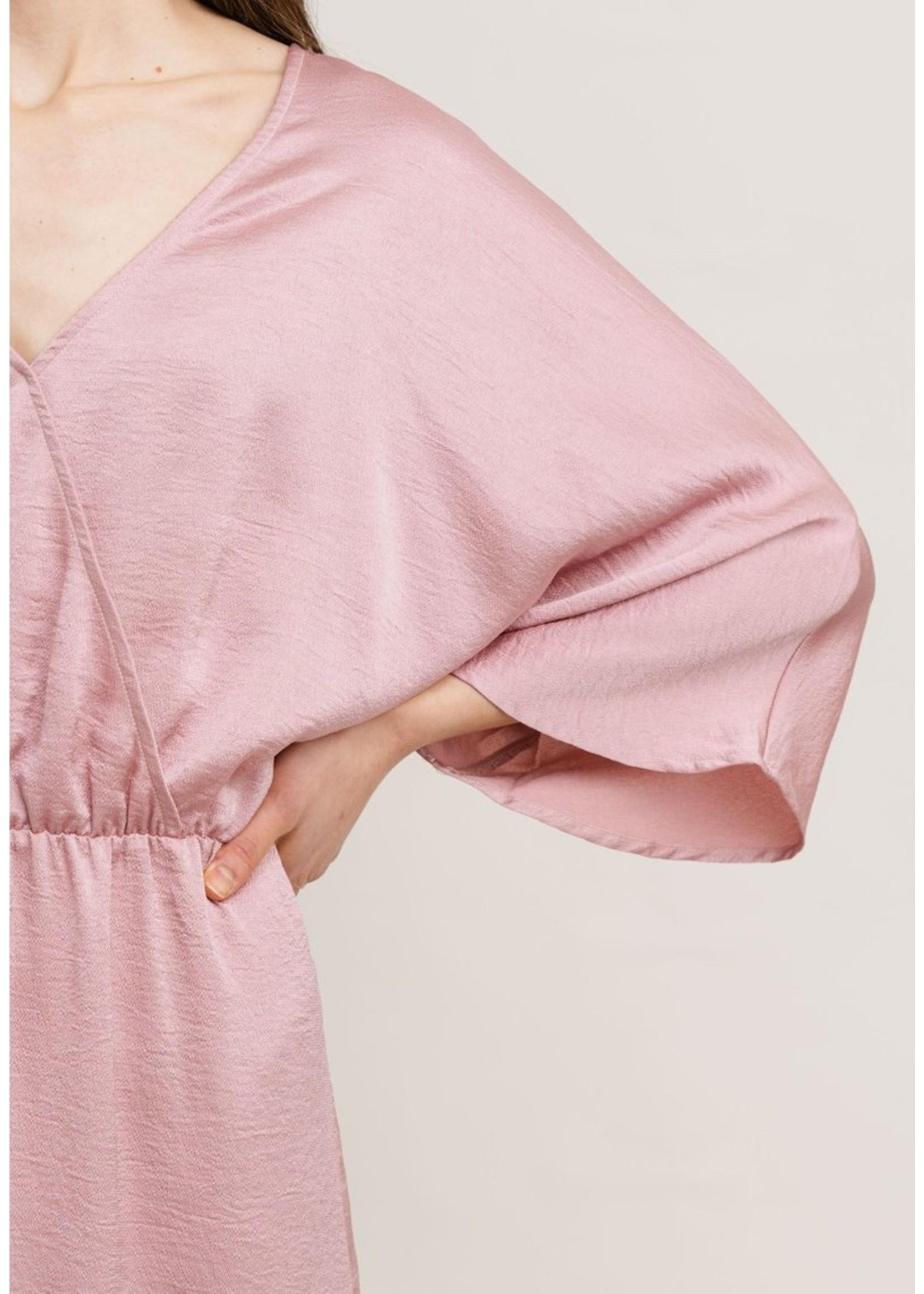 Rutandcircle Maxi dress dusty pink