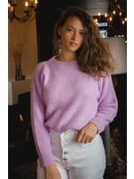 Mika Elles lila knitted sweater