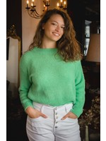 Mika Elles green knitted sweater