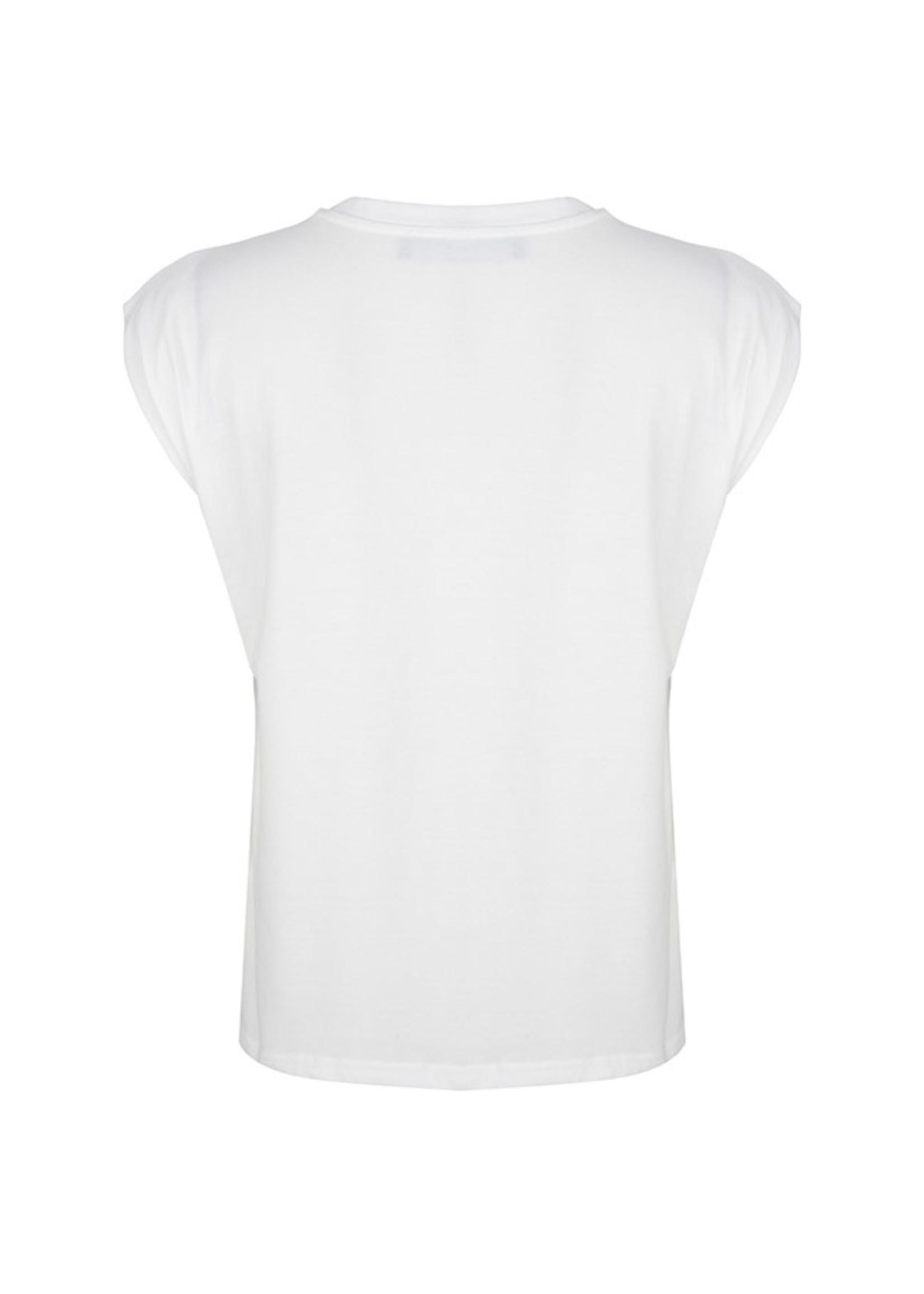 Lofty Manner White shirt on tour