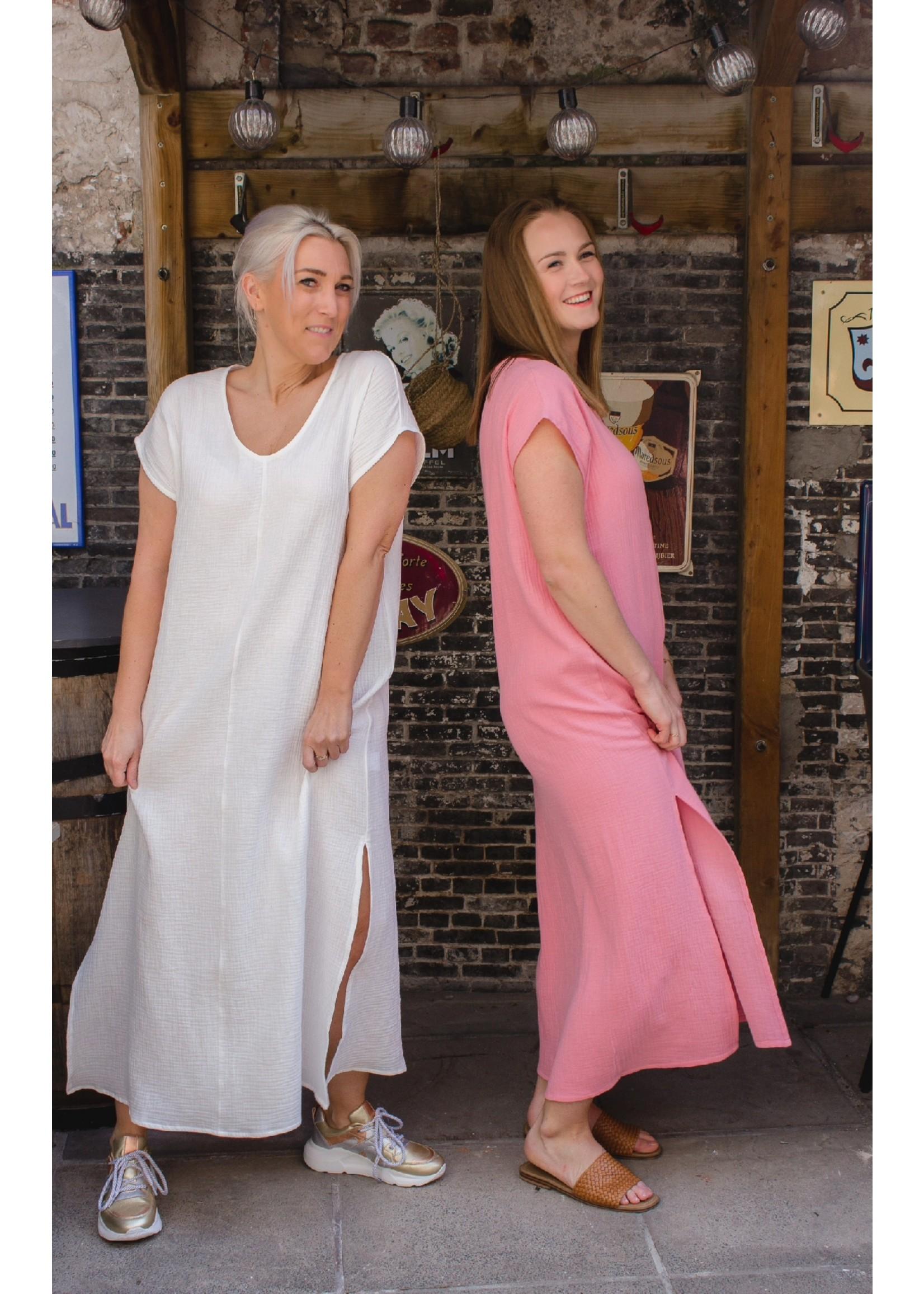 Maxlabel Pink tetra dress