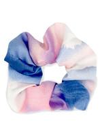 haarelastiek silky Pink-blue