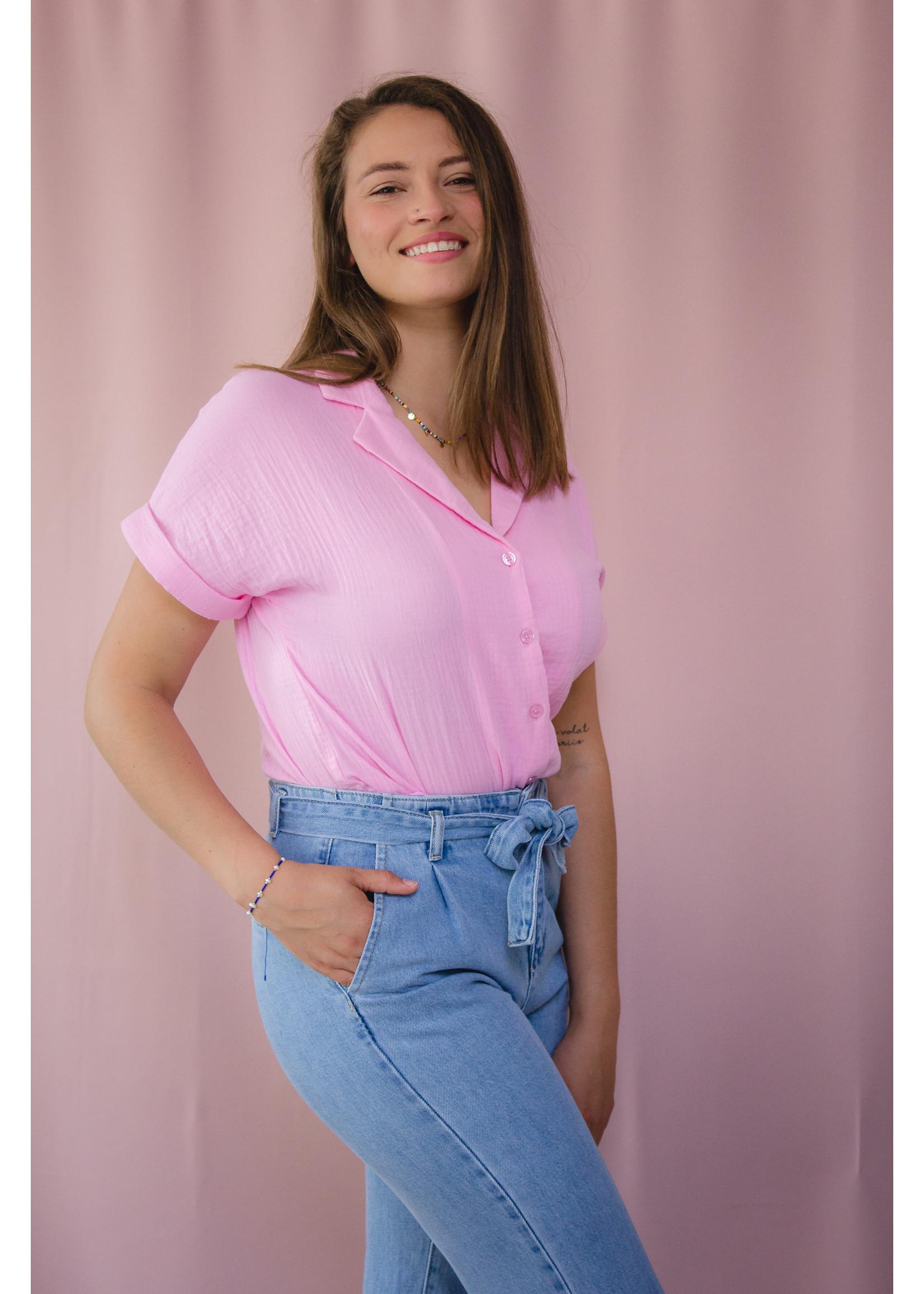 Ydence Blouse tetra pink