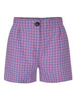 Ydence Short pink check