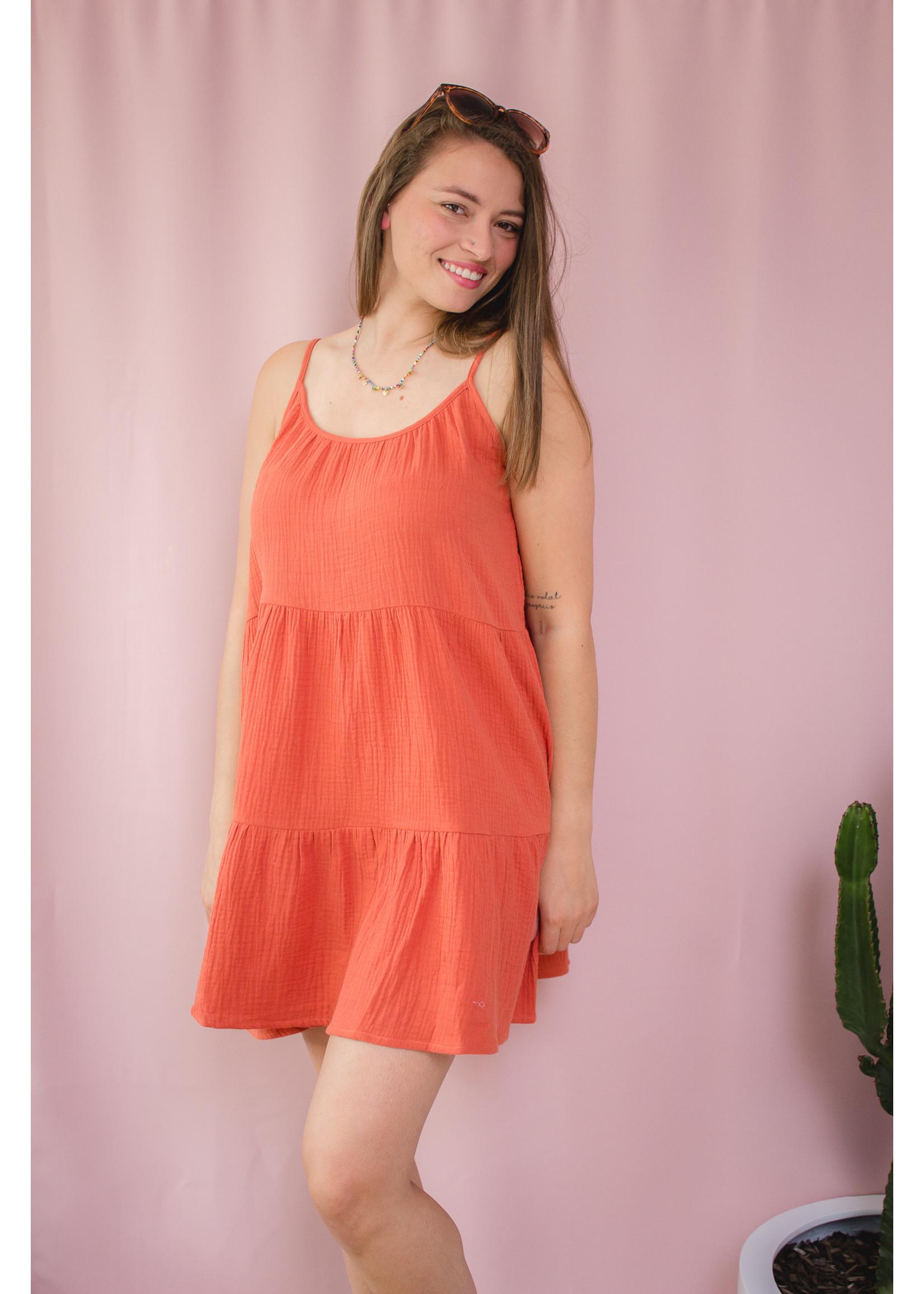 Ydence Dress terracotta