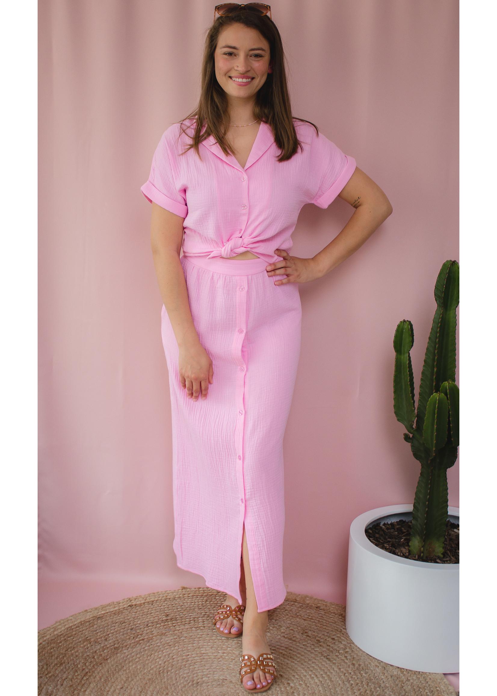 Ydence Skirt tetra pink