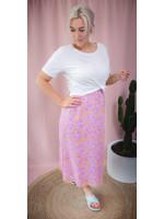 Ydence Skirt lila flower print