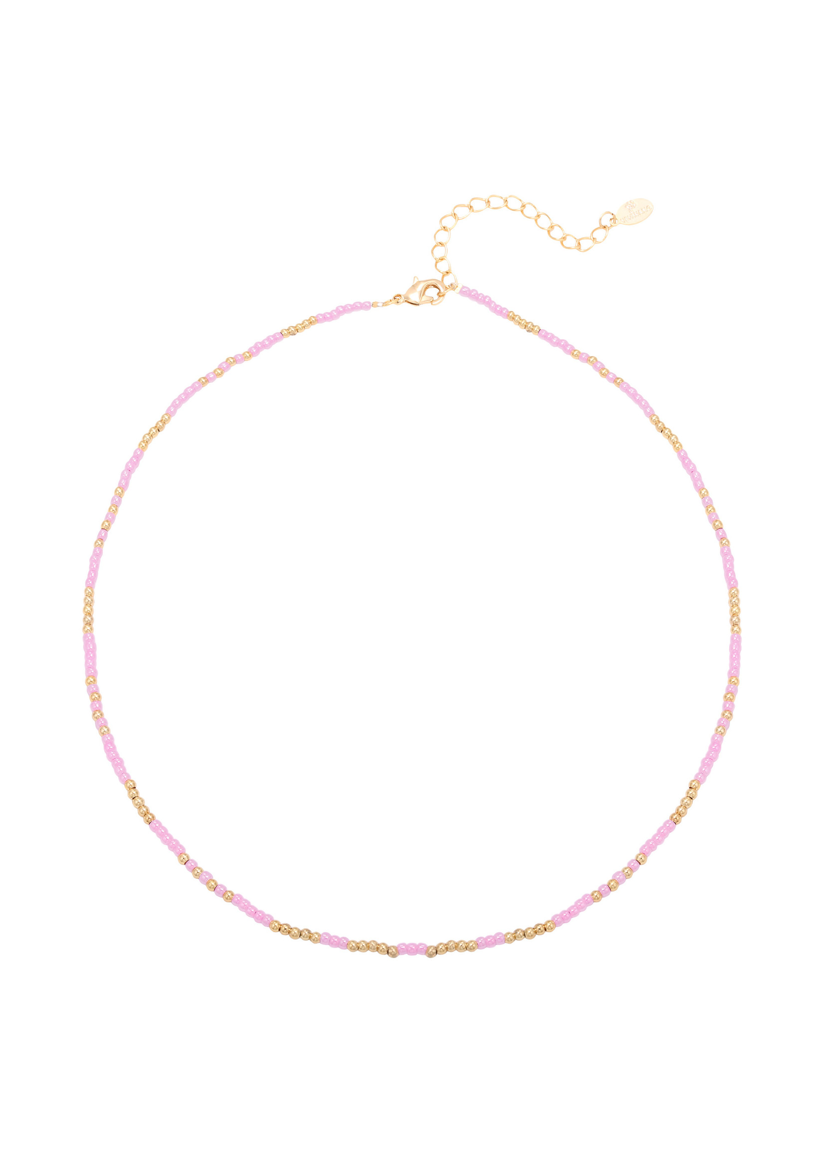 Ketting mystic beads lila