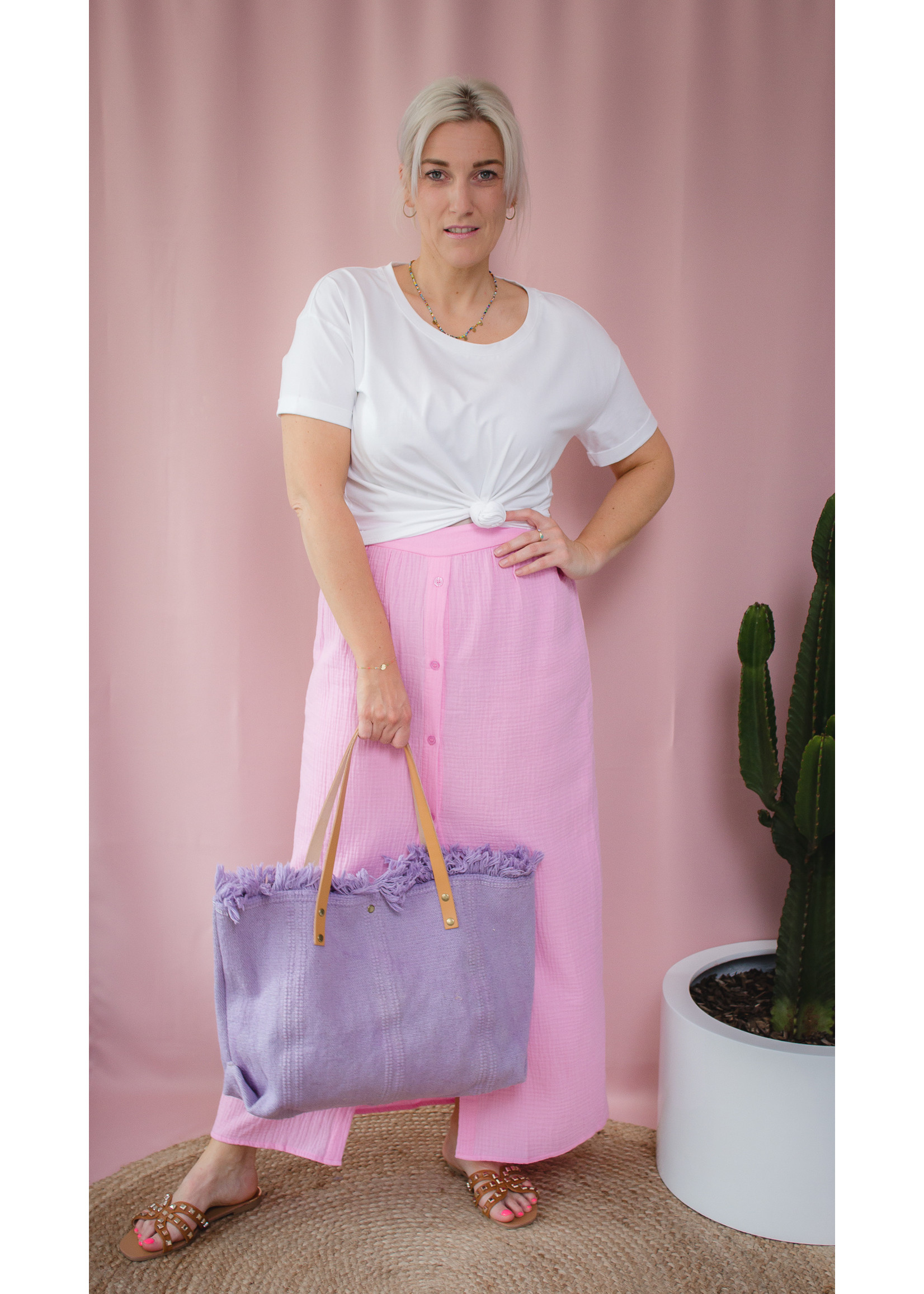 Shopper lila