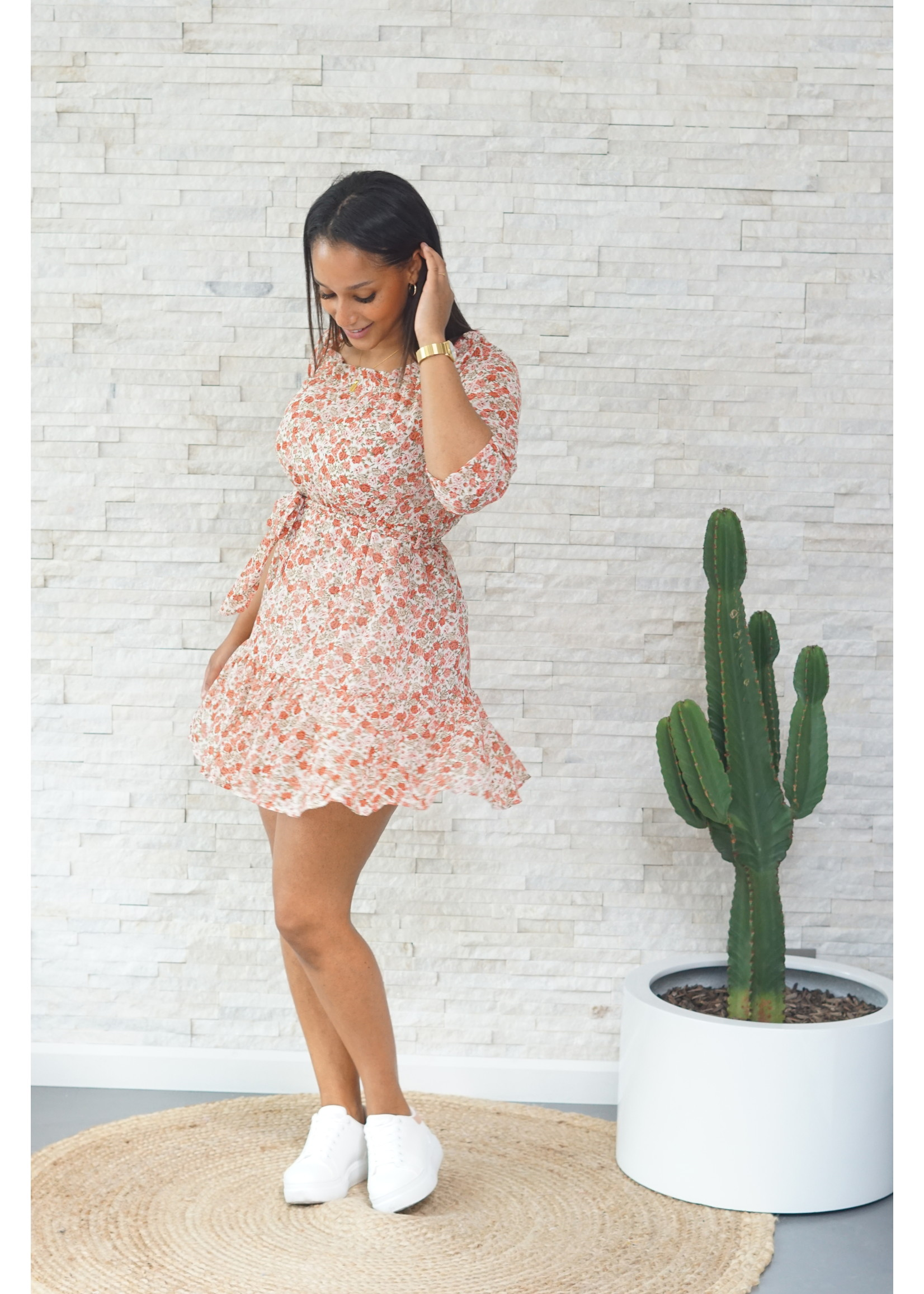 Lofty Manner Playsuit flower pink