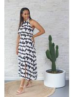 Lofty Manner Dress black/ white