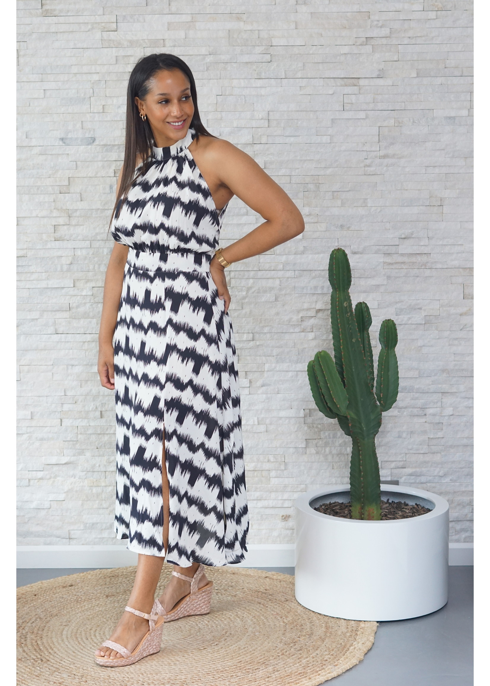 Lofty Manner Dress black/white