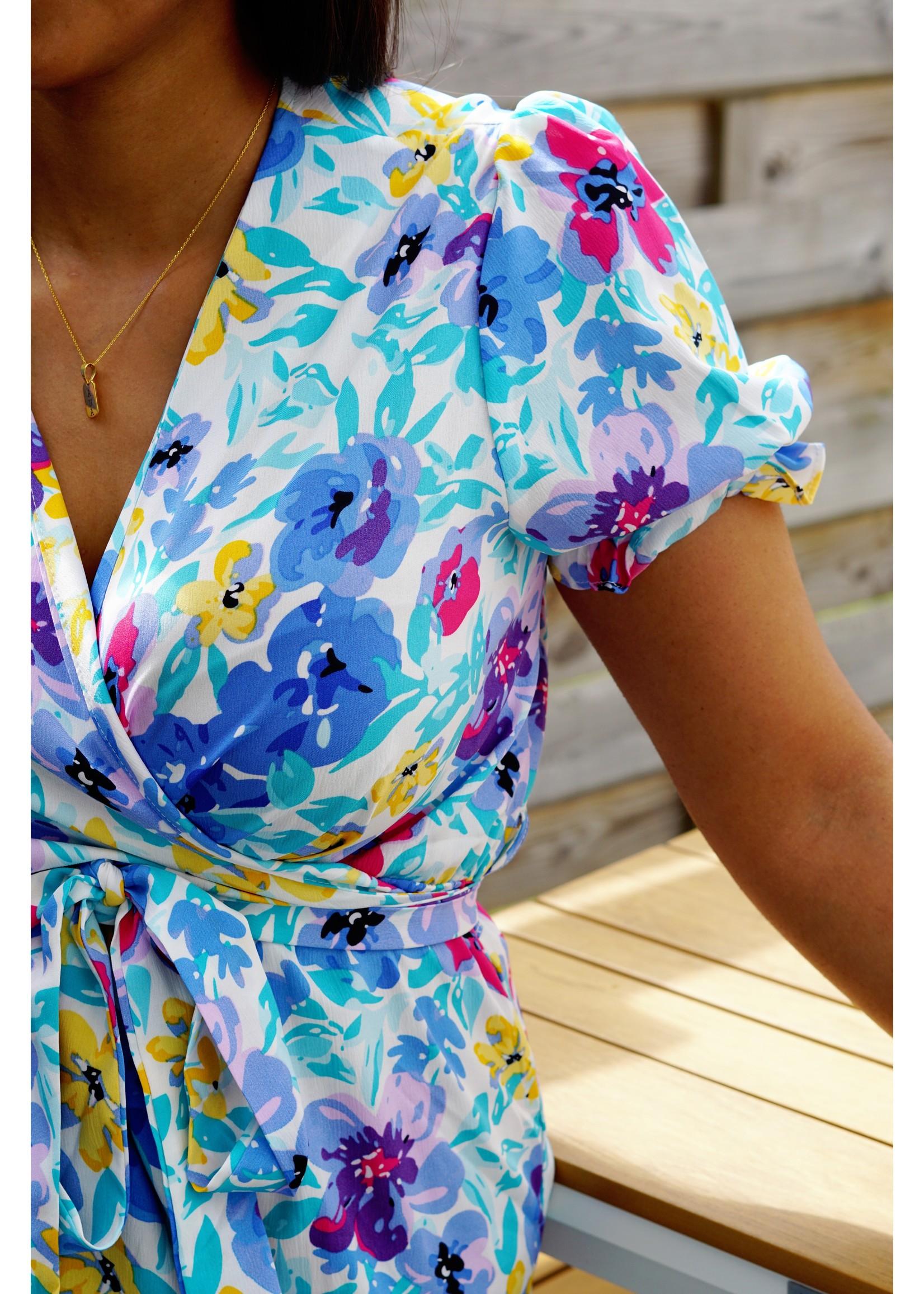 Dress happy flower