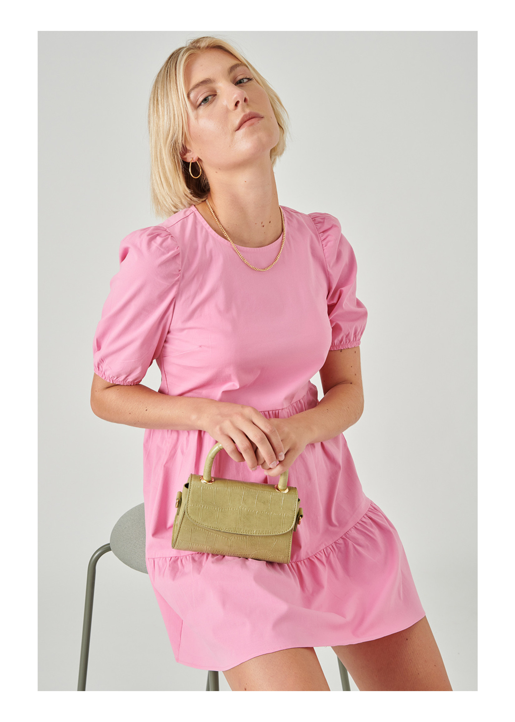 24colours Dress sunny pink