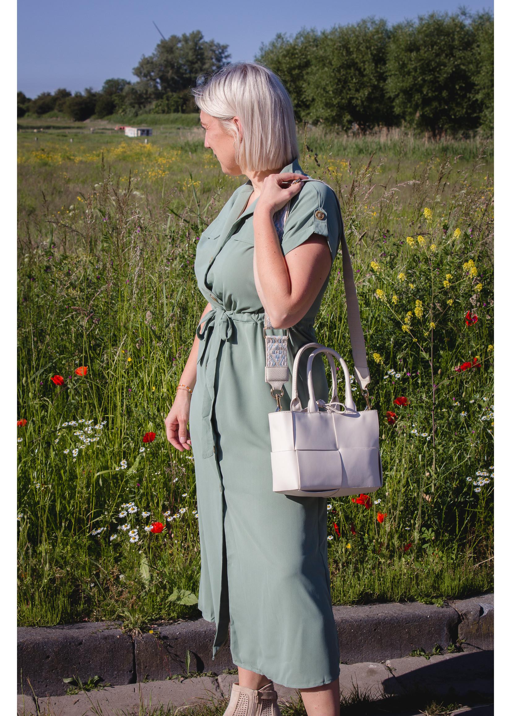 Dress classic green