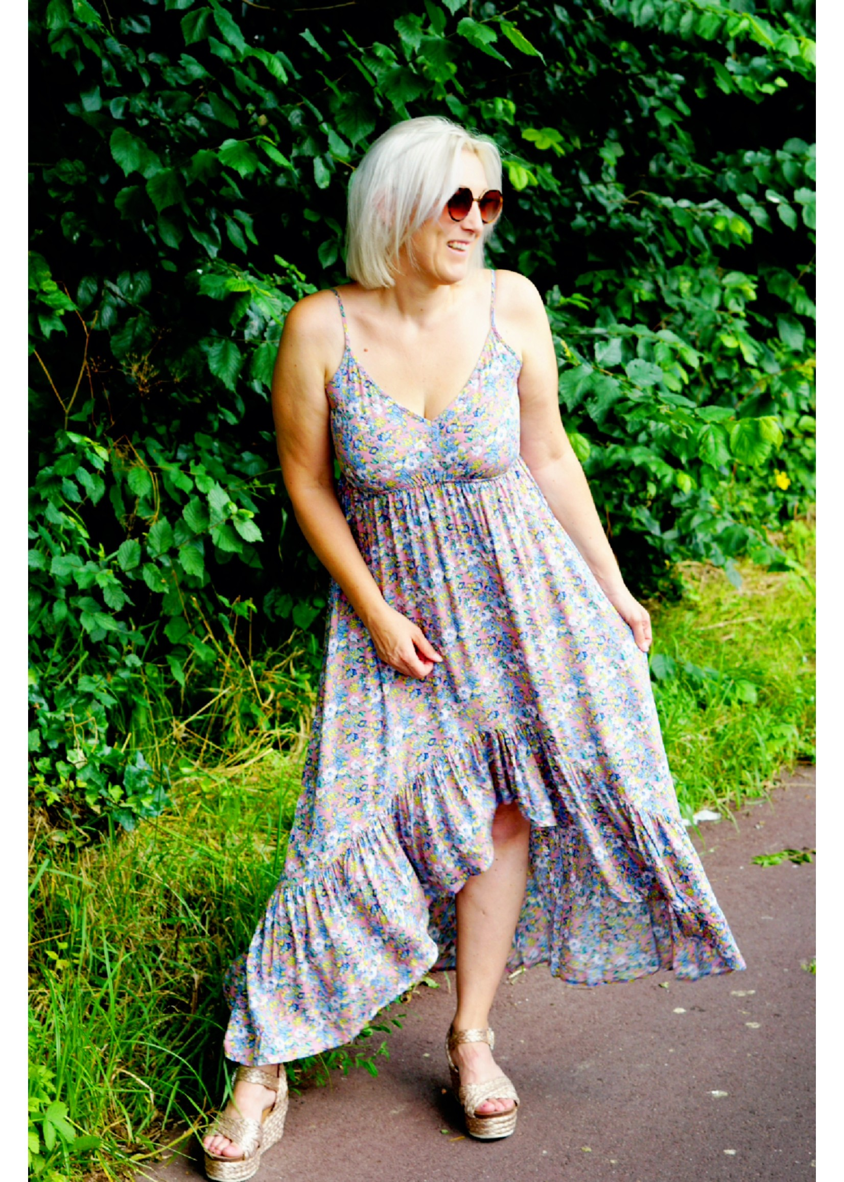 24colours Sunny flower dress
