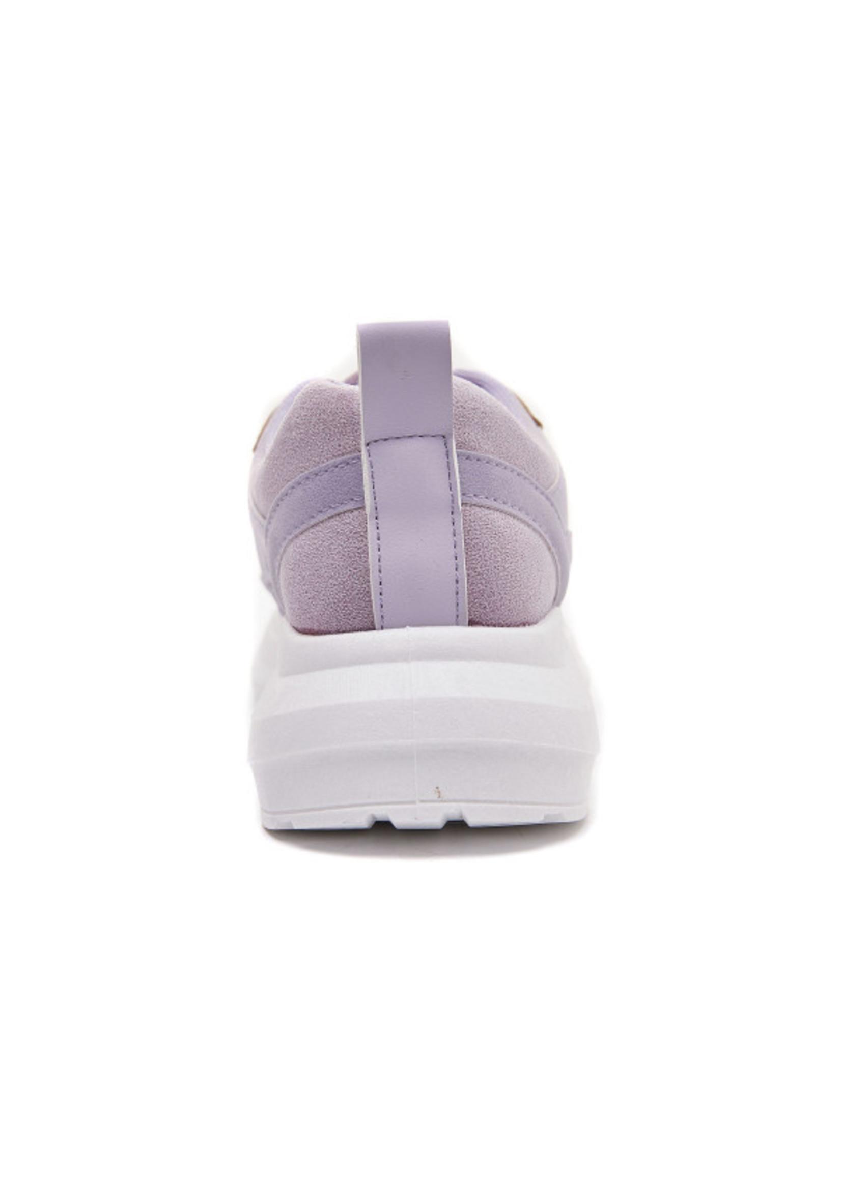 Chunky lila sneaker