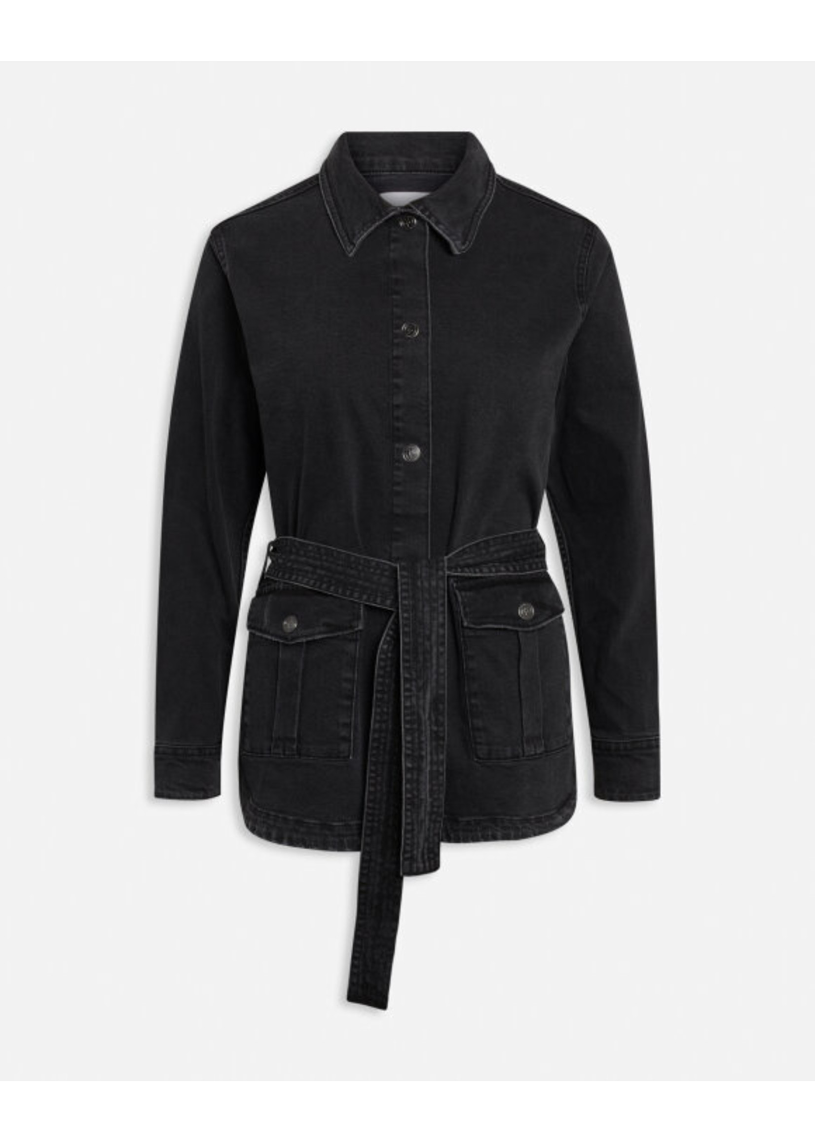 sisters point Black jeans jacket