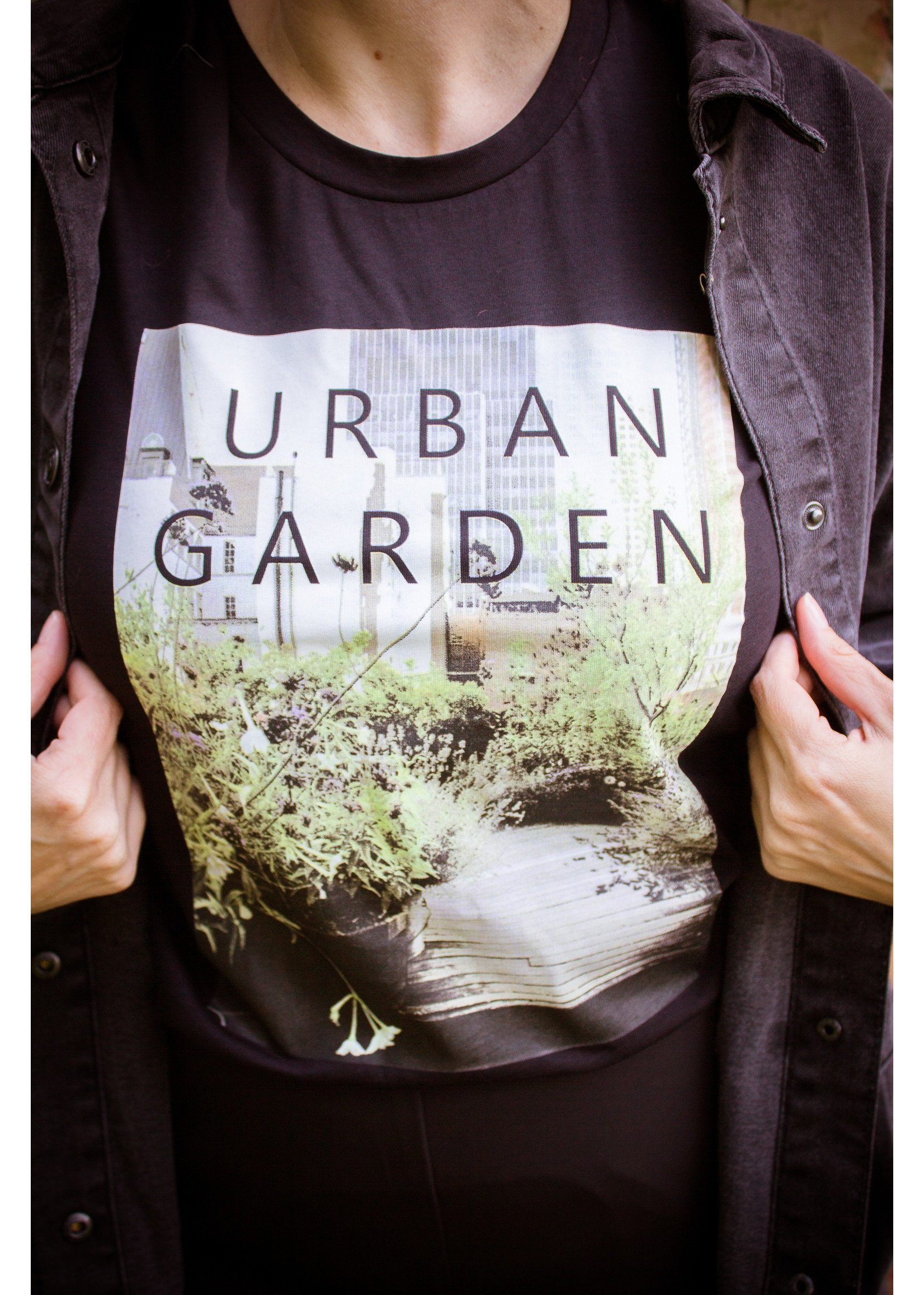 Kaffe Urban garden shirt