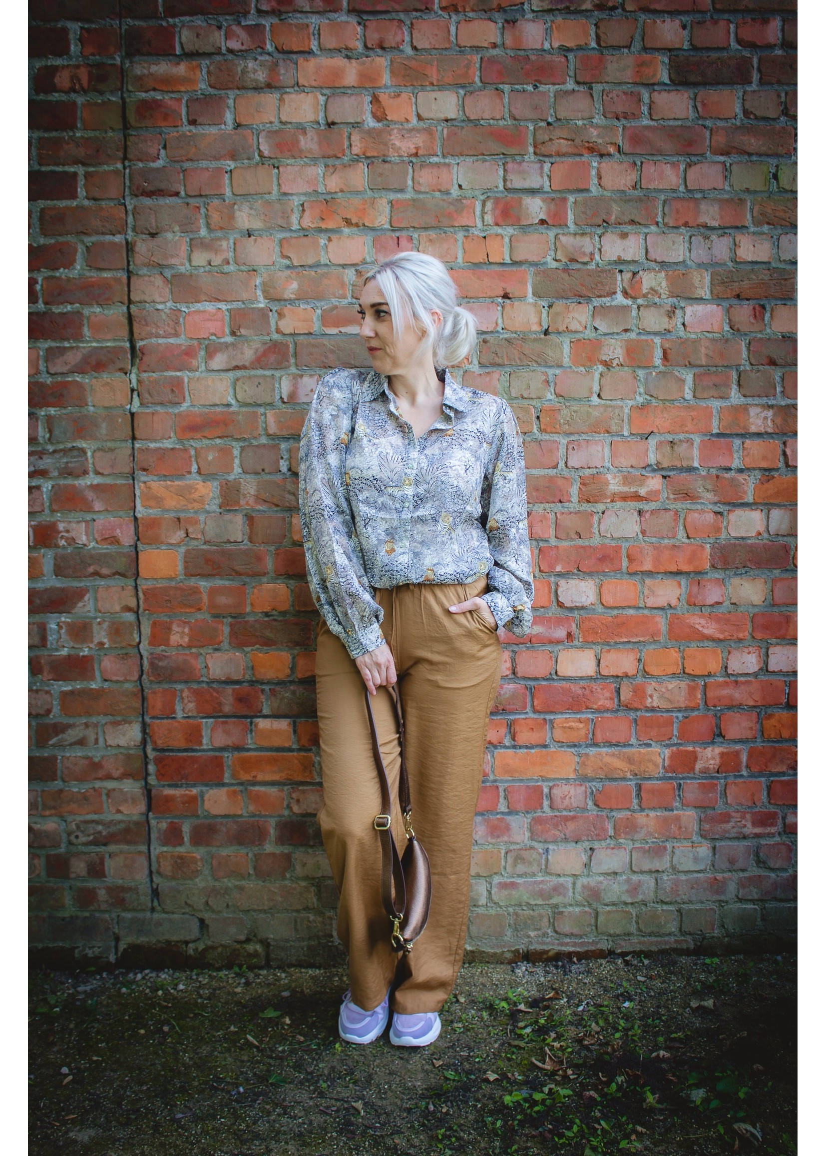 sisters point Bamboo camel pants