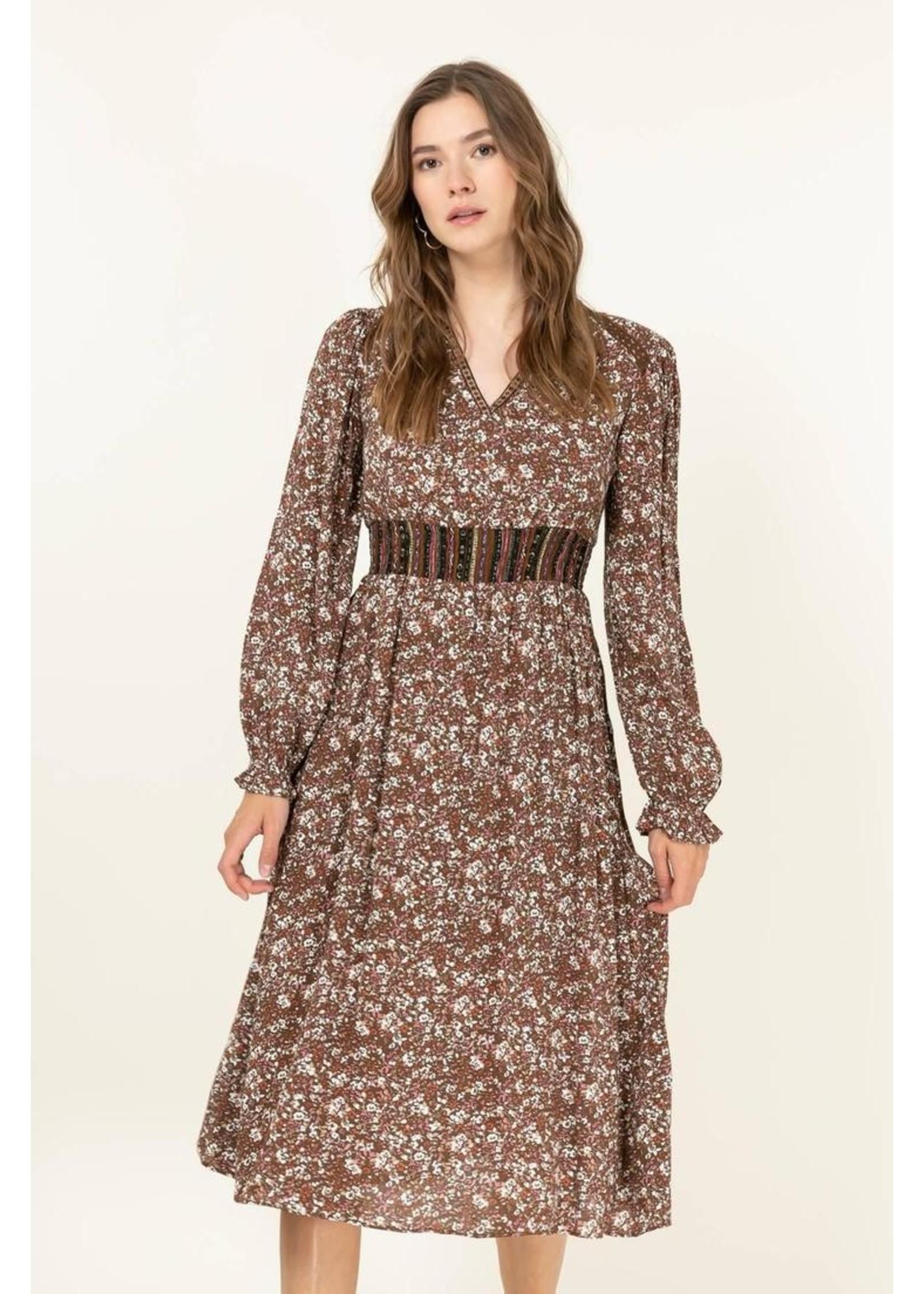 Cherry Paris Officiel Bohemian look dress