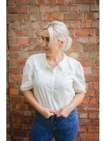 Cherry Paris Officiel Adorable white blouse