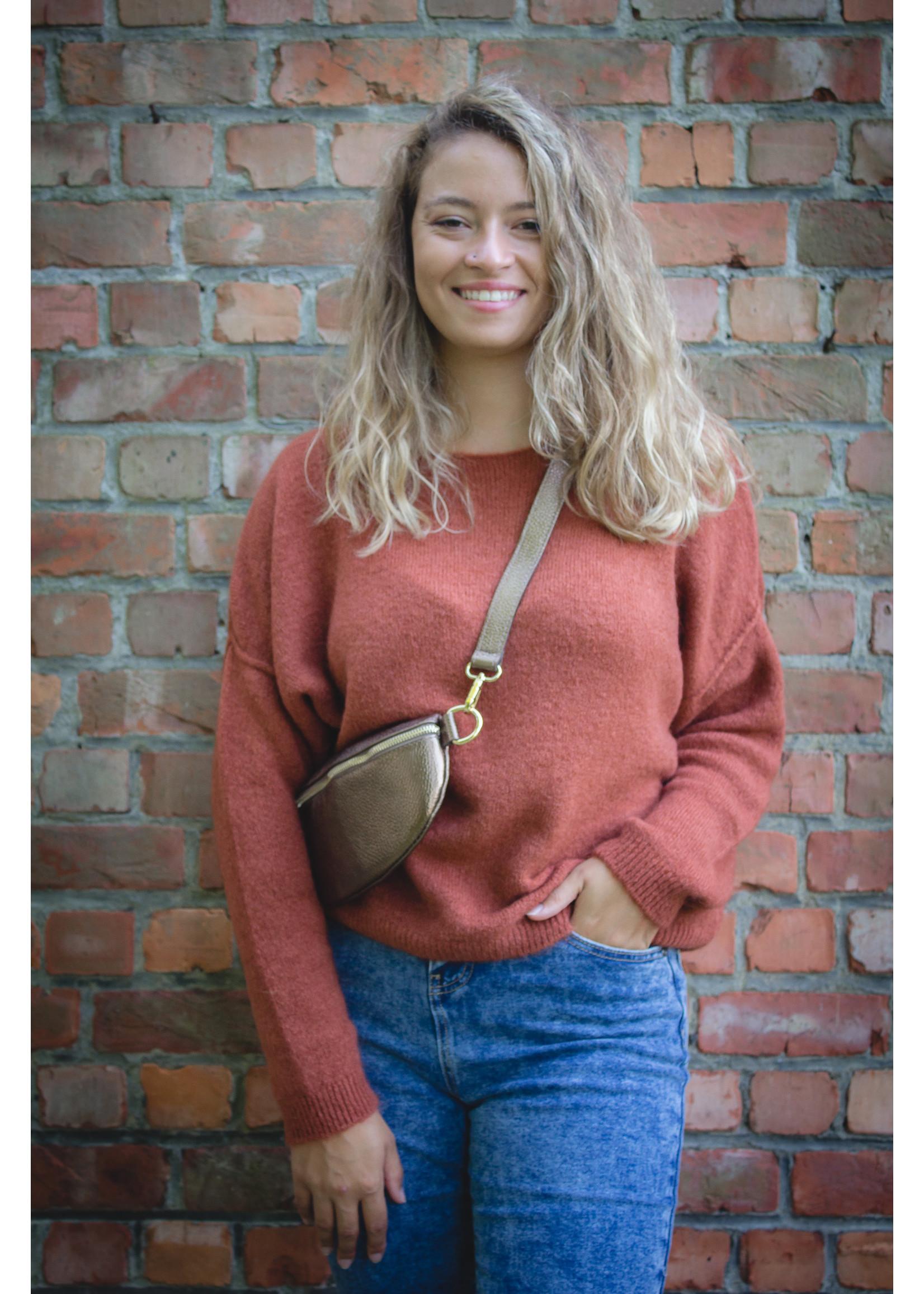 Tierra Di sienna Camel knit