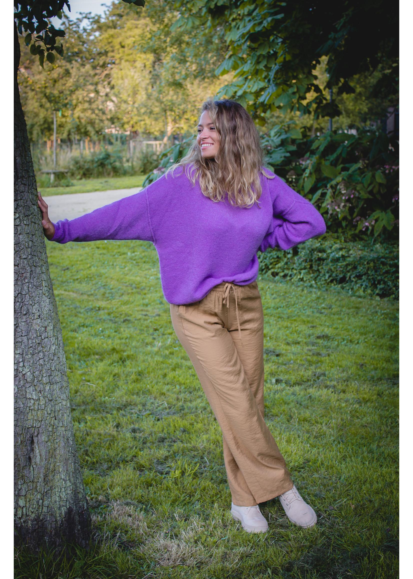 Tierra Di sienna Purple lila knit