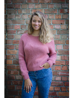 Mika Elles Dusty pink knitted sweater