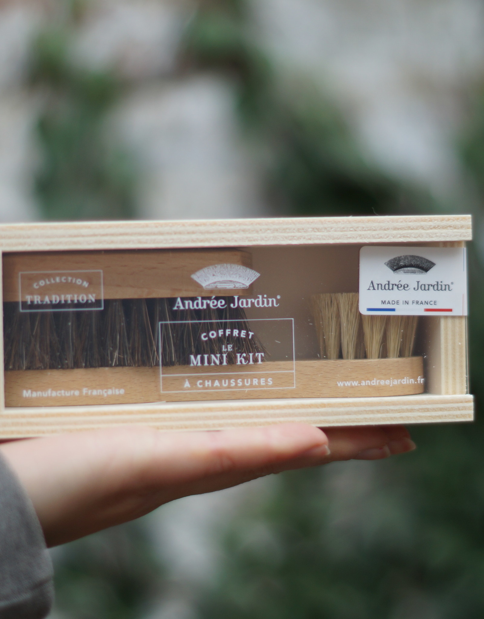 Andrée Jardin Shoe kit