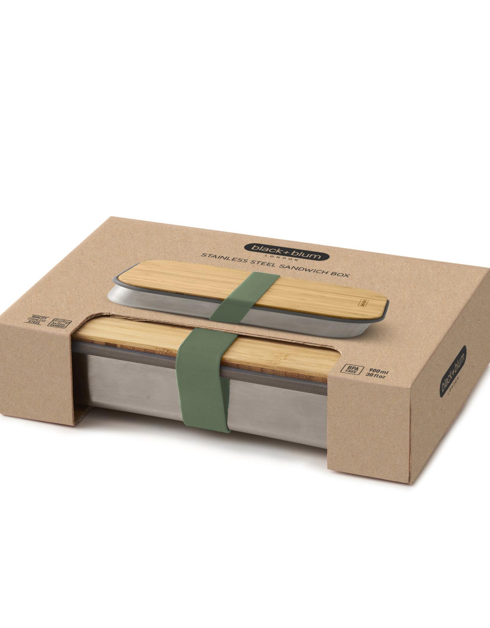 Sandwich box olive