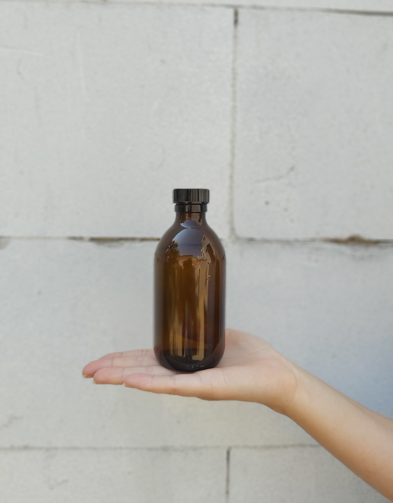 Kuishi Refill glazen medicijnflesje