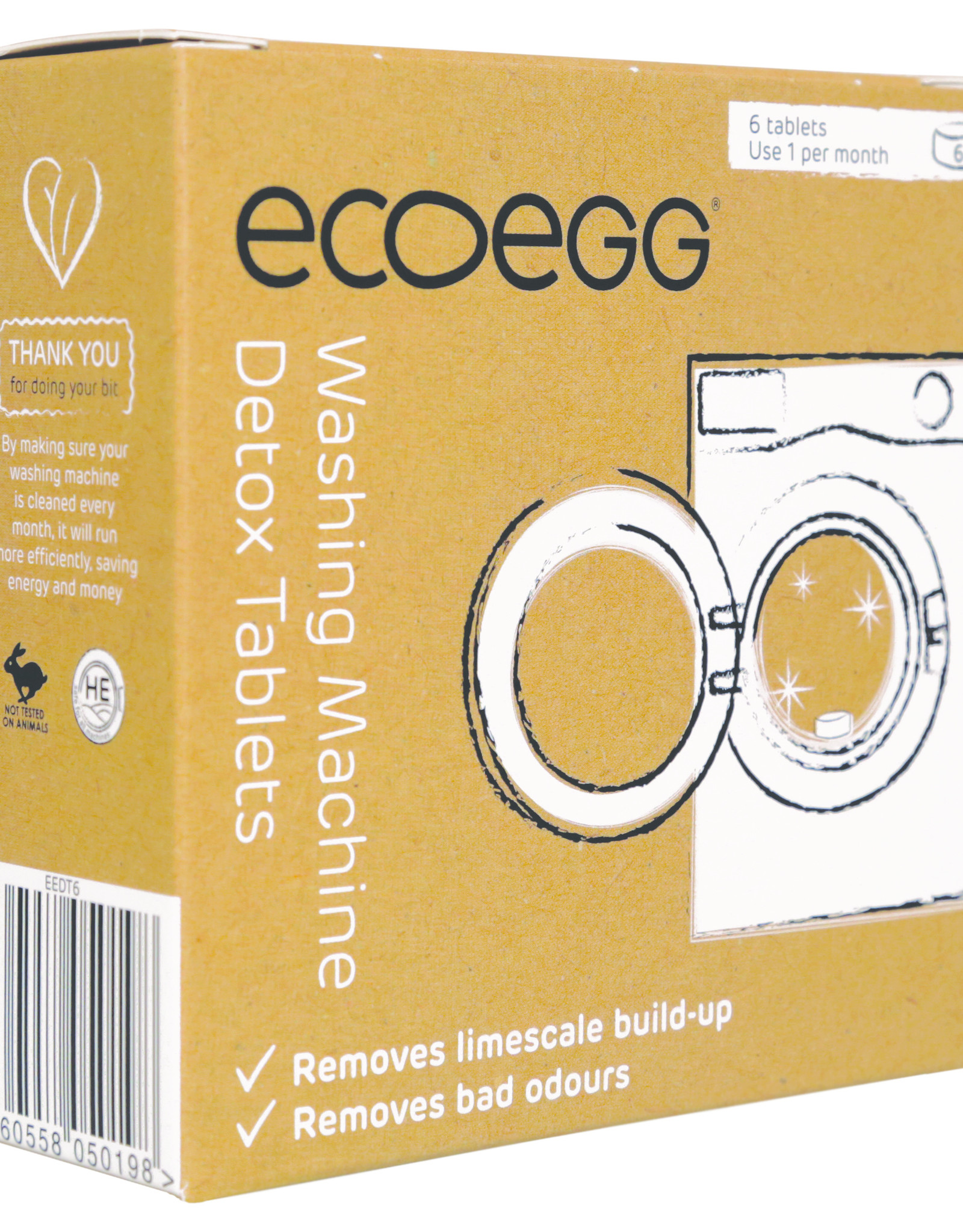EcoEgg Detox tabletten wasmachine