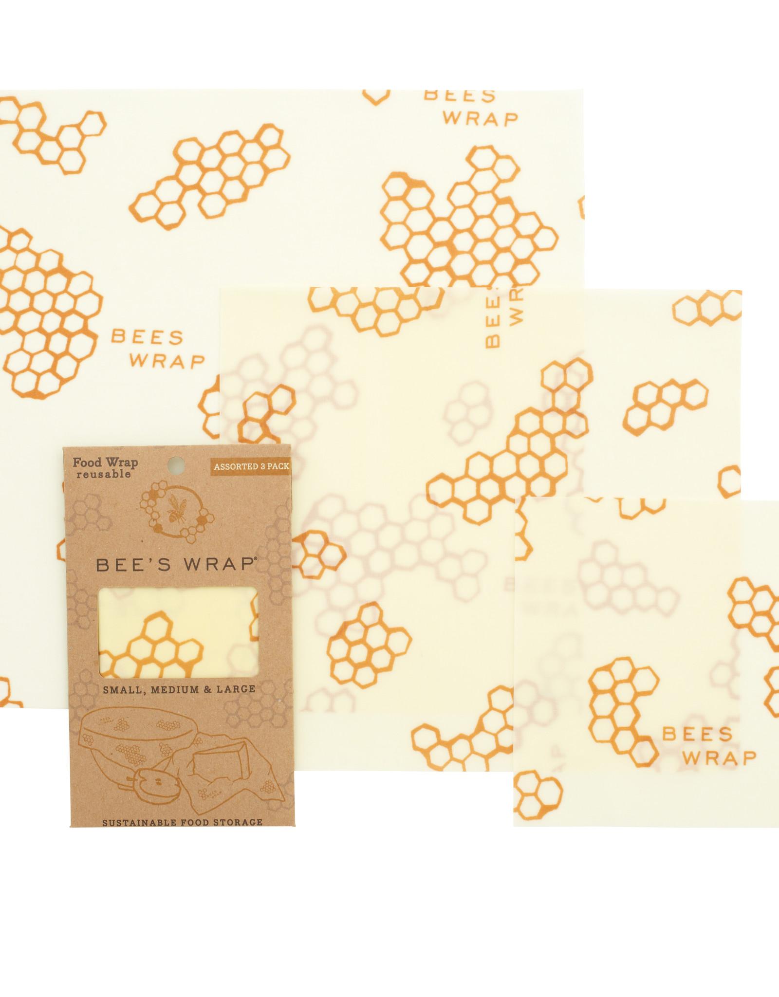 Bee's Wrap Bijenwasdoek mix 3st