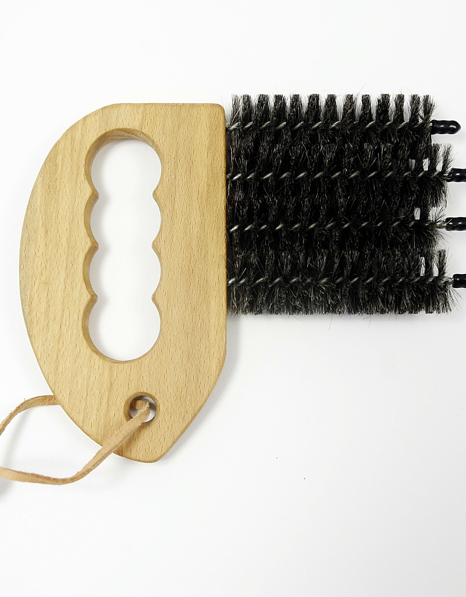 Window blinds and shutters cleaning brush