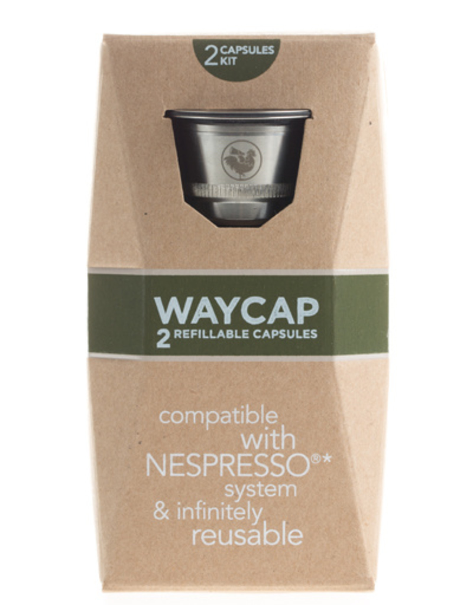 Waycap Refillable coffee capsules