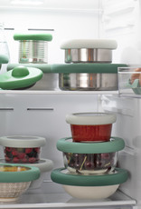 Food Huggers Food Huggers glass bowl lid