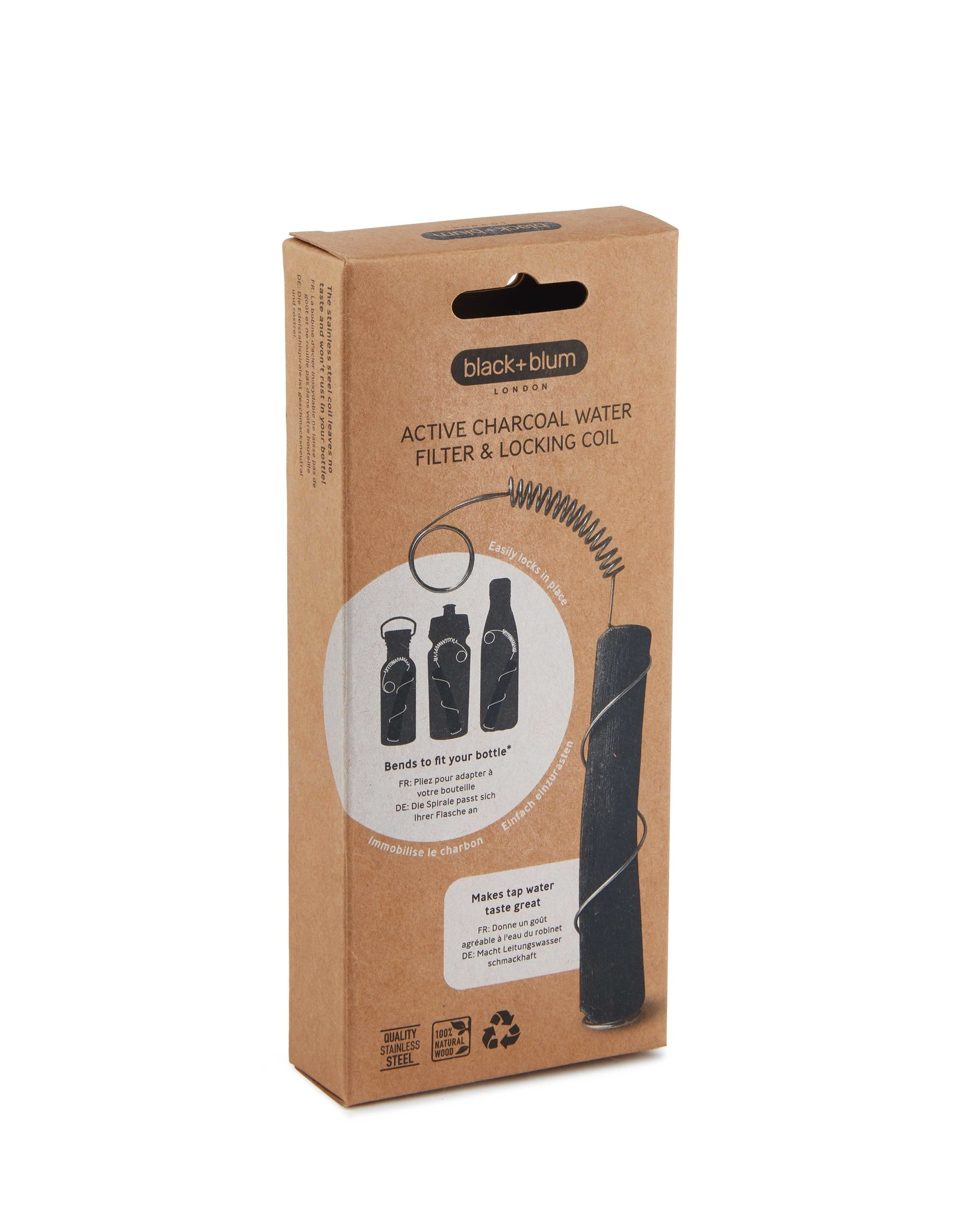 Charcoal waterfilter