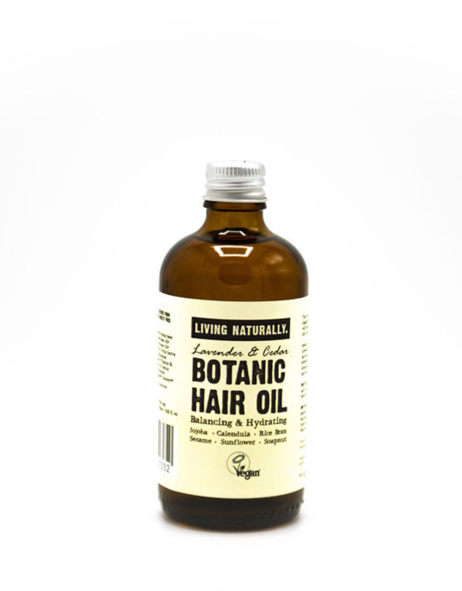 Botanische haarolie