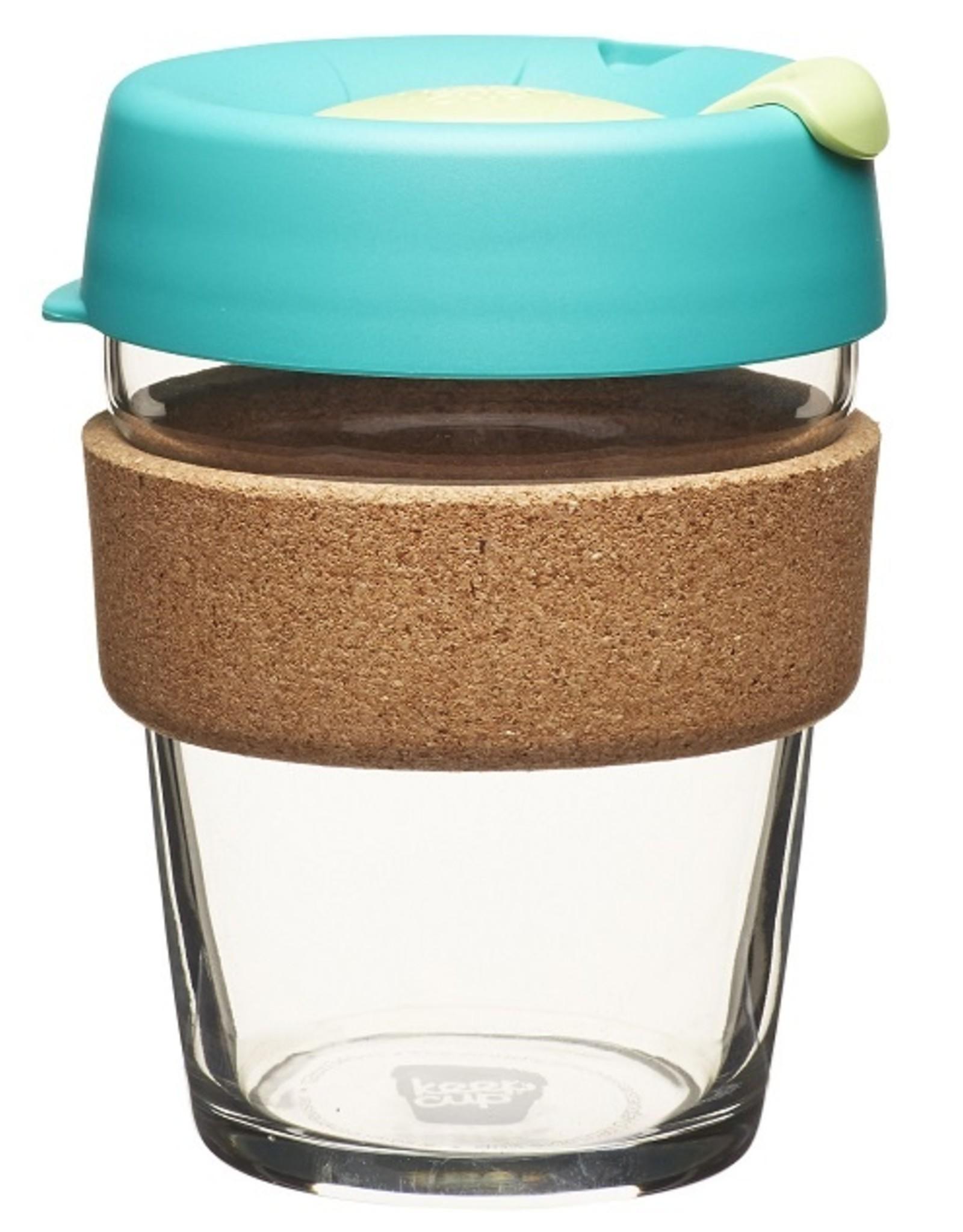 Herbruikbare glazen koffiebeker