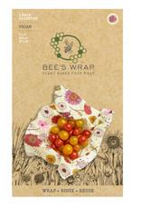 Bee's Wrap Bijenwasdoek vegan mix 3 st