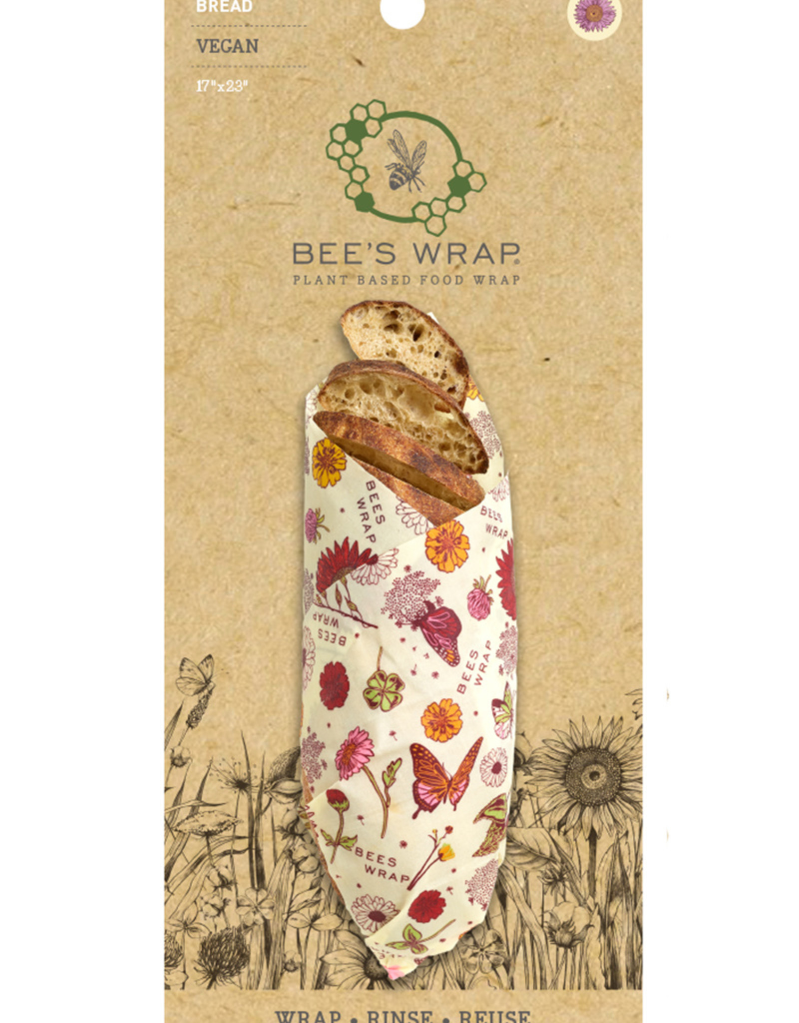 Bee's Wrap Bijenwasdoek brood(je) vegan 1 st.